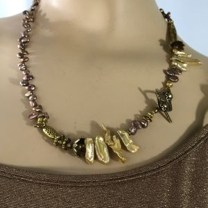 """21""""Fresh Water Shell  Necklace"""